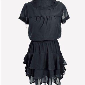 Converse little black flowing dress w/ slip